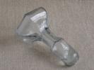 Ancien Grand Bouchon De Verre Bleuté, Hexagonal 7 Facettes. Voir Photos - Glass & Crystal