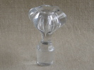 Ancien Grand Bouchon  Hexagonal Arrondi 7 Facettes. Voir Photos - Verre & Cristal