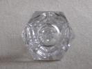 Ancien Grand  Bouchon  Hexagonal  à 19 Facettes. Voir Photos - Verre & Cristal
