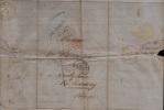 """PIECE UNIQUE ! FACTURE VIN MEDOC RIMBAUT & LEHOUCQ - LAC 1846 BORDEAUX - GRIFFE ROUGE """" 9R """"  MOUSCRON AVELGHEM - - 1800 – 1899"""