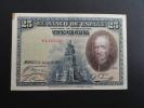 1928 - Billet 25 Pesetas Type Calderon De La Barca - Espagne - Espana - E 2463448 - [ 1] …-1931 : Eerste Biljeten (Banco De España)