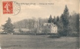 FAUX La MONTAGNE Château De THezillat - Excellent état - France