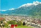 AOSTA - PANORAMA SULLO SFONDO MONTE EMILIUS VG78 - Aosta