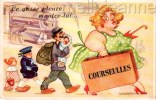 Carte à Systeme - Courseulles (14) - France