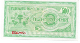 MACEDONIA 50 DENARA 2007 P NEW UNC - Macédoine