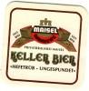 Sous Bock  Keller Bier Maisel Très Bon état - Sous-bocks