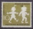 Bundespost Mi.281 Postfris Plaatfout F2 - [7] West-Duitsland