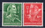 DR Deutsches Reich 1944 Mi Mnh 894-95 Reichsarbeitsdienst - Deutschland