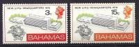 Bahamas, Year 1970, Mi 306-307, U.P.U. Headquarters, MNH** - Bahamas (...-1973)