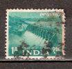Timbre Inde République Y&T N°  57 (1) Oblitéré. 1 A. - Irán