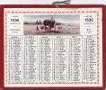 Calendrier 1936 - Agriculture Foins - Courses Hippiques - 1936 Année Bissextile - Kalenders