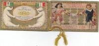 Calendrier  1928 - Enfants Jouets - Dolls Teddy Bear - Piano -  Père Noël - Théâtre Marionnettes - Parfum - Calendars