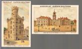 Lot De  2 Chromos Chocolat Guérin Boutron  ( Luxeuil Rennes )(  Recto Verso ) - Guerin Boutron