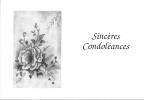 Sincères Condoléances - Funérailles
