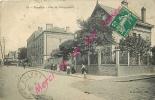 93. PANTIN . Rue Du Débarcadère .  CPA Animée - Pantin