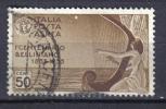 2RG347 - REGNO 1935 , Bellini Posta Aerea 50 Cent  N. 91  Used - 1900-44 Vittorio Emanuele III