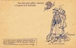 CPFM 1914 - Le Fantassin - Soldat Poilu Grenade - Tarjetas De Franquicia Militare