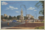 ARGENTINE / ARGENTINA - BUENOS AIRES - The Spaniard´s Monument On Libertador General San Martin Avenue - Argentina