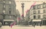 92. LEVALLOIS PERRET .  Place Chaptal .  CPA Animée . - Levallois Perret
