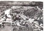 Cpsm Dun Sur Meuse (55) Vue Aérienne - Eglise Et Meuse - Dun Sur Meuse