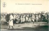 DJIBOUTI:Danse Des Somalis.Nombreux Danseurs.Non écrite. - Djibouti