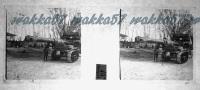 $3E6- WWI - Trasporto Di Un Cannone Da 152 Su Trattrice Verso Monfalcone - Marzo 1916 - Diapositiva Su Vetro