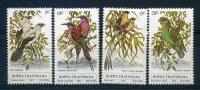 1980 Bophutatswana, Uccelli , Serie Completa Nuova (**) - Bophuthatswana