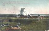 TARGET PRACTICE FT. BARRANCAS SANTA ROSA ISLAND AND GULF OF MEXICO IN THE DISTANCE WRITTEN IN ESPERANTO CIRCULEE 1906 - Pensacola