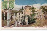 1916 - CARTE MAXIMUM - ATHENES (GRECE) - TEMPLE D'EOLE - Cartoline