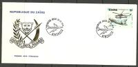 ZAIRE KONGO Air Plane Flugzeug FDC 1978 - Zaïre