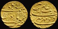 [DO] INDIA [Impero MOGHUL] - Aurangzeh Almgir (1658- 1707 AD)   MOHUR 1082 AH [Oro / Gold /Or] - Indiennes