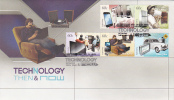 Australia 2012 PrecioTechnology Then & Now  FDC - FDC