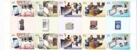 Australia 2012 Technology Then & Now  Gutter Strip  MNH - 2010-... Elizabeth II