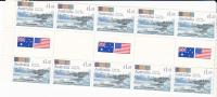 Australia 1992 AustralianUnder Fire, El Alamein , Gutter Strip MNH - Sheets, Plate Blocks &  Multiples