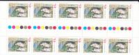 Australia  2001 Christmas The Flight In Egypt , Gutter Strip MNH - Sheets, Plate Blocks &  Multiples