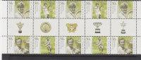 Australia  2003 Tennis  Gutter Strip MNH - Sheets, Plate Blocks &  Multiples