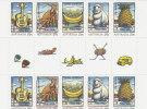 Australia  2007 Australian Icons Gutter Strip MNH - Sheets, Plate Blocks &  Multiples