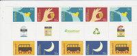 Australia  2008 Living Green   Gutter Strip MNH - Sheets, Plate Blocks &  Multiples