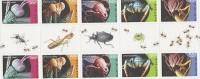 Australia  2009 Micromonsters  Gutter Strip MNH - Sheets, Plate Blocks &  Multiples