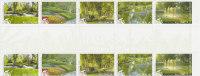 Australia  2009 Parks & Gardens  Gutter Strip MNH - Sheets, Plate Blocks &  Multiples