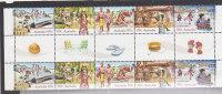 Australia  2010 Long Weekend   Gutter Strip MNH - Sheets, Plate Blocks &  Multiples