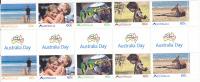 Australia  2011 Living Australians  Gutter Strip MNH - Sheets, Plate Blocks &  Multiples