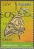 Espagne 2011 Papillon Machaon O - 1931-Aujourd'hui: II. République - ....Juan Carlos I