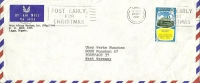 Nigeria Lagos -- Munchen 1970 / Noel Christmas Kerstmis / Independance - Nigeria (1961-...)