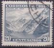 £12 - CHILI - YVERT N° 293 - OBLITERE - Chili