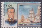 £12 - CHILI - YVERT N° 883 - OBLITERE - Chili