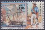 £12 - CHILI - YVERT N° 884 - OBLITERE - Chili