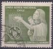 £12 - CHILI - YVERT - POSTE AERIENNE N° 214 - OBLITERE - Chili
