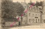 63. LA BOURBOULE . Villa Des Roches  . Pension De Famille .  CPA Animée . - La Bourboule