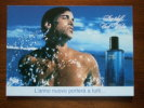 Davidoff Cool Water Homme Parfum Carte Postale TOCARD Italy Edition - Modern (from 1961)